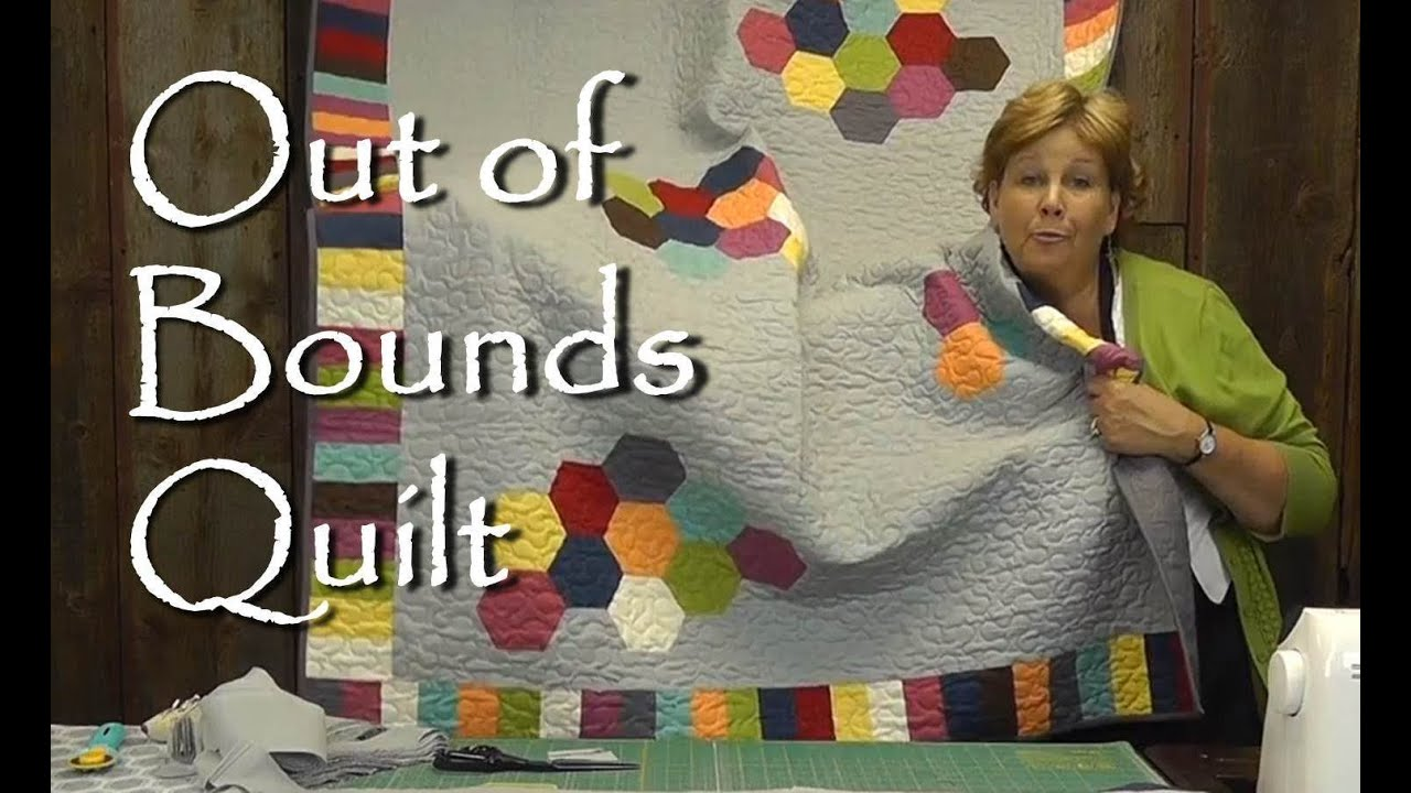 Out of Bounds Quilt - Modern Quilting Project - YouTube : quilting videos on youtube - Adamdwight.com