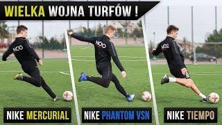 TESTUJEMY TURFY NIKE - Wojna Butów Piłkarskich | GDfootball