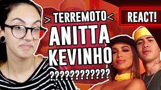 Baixar REACT: Terremoto - Anitta e Kevinho   Luma Show