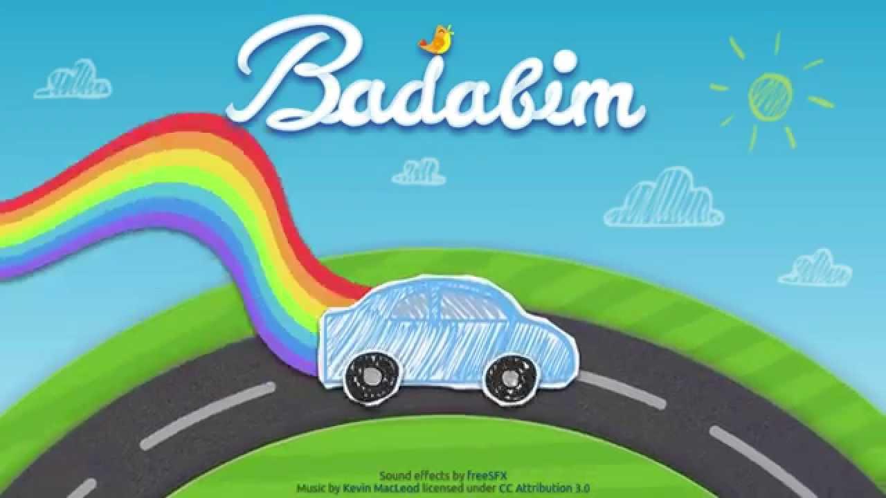 Badabim L application pour enfants dessins animés jeux coloriages & histoires en illimité