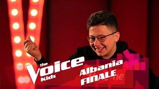 Denis B. përgatitet për Finale   The Voice Kids Albania 2018