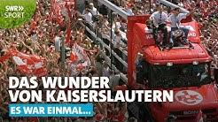 1998: Der FCK wird Meister, Kaiserslautern im Ausnahmezustand | SWR Sport