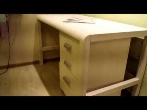 Видео обзор компьютерный стол Леон 4 Скоме 2016 - YouTube