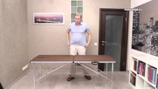 Обзор складного массажного стола Гелиокс ТМ 185
