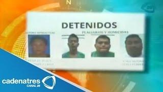 Detienen a presuntos responsables del asesinato al periodista Gregorio Jiménez