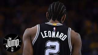 How will LaMarcus Aldridge adjust to Kawhi Leonard