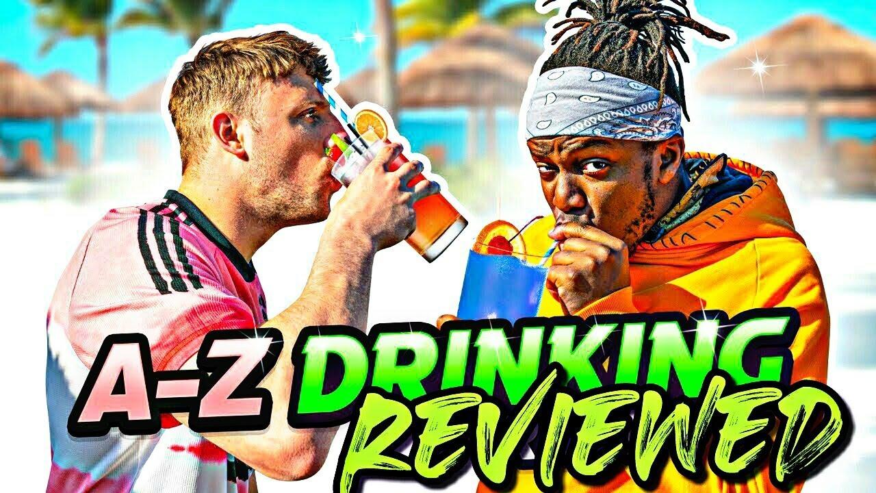 REVIEWING SIDEMEN A-Z DRINKING RACE!