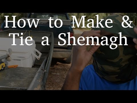 How to Make & Tie a Shemagh