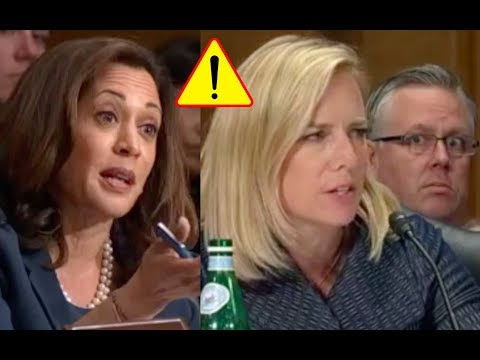 HEATED BATTLE Between Senator Kamala Harris and Kirstjen Nielsen!