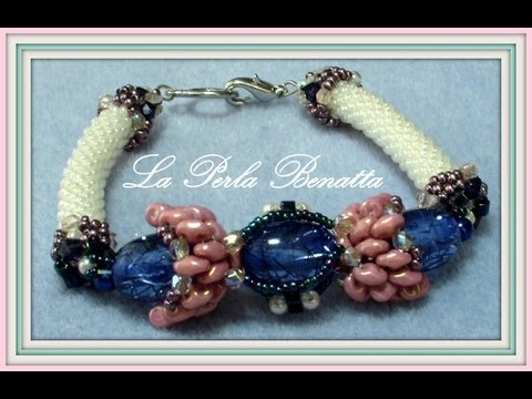 Raspberry  Candy  Bracelet - Tutorial