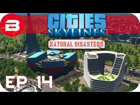 Cities Skylines Natural Disasters Gameplay - TOURISM TOWN (Hard Scenario) #14