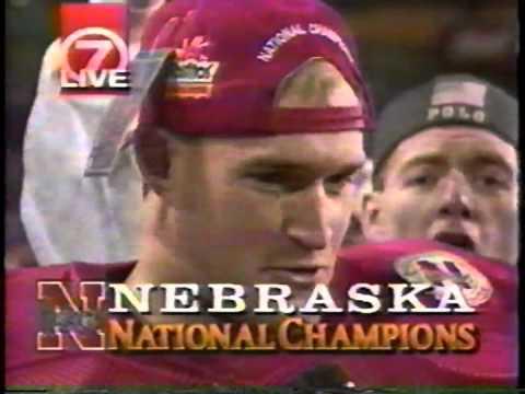 1996 KETV Nebraska vs Florida Fiesta Bowl PostGame