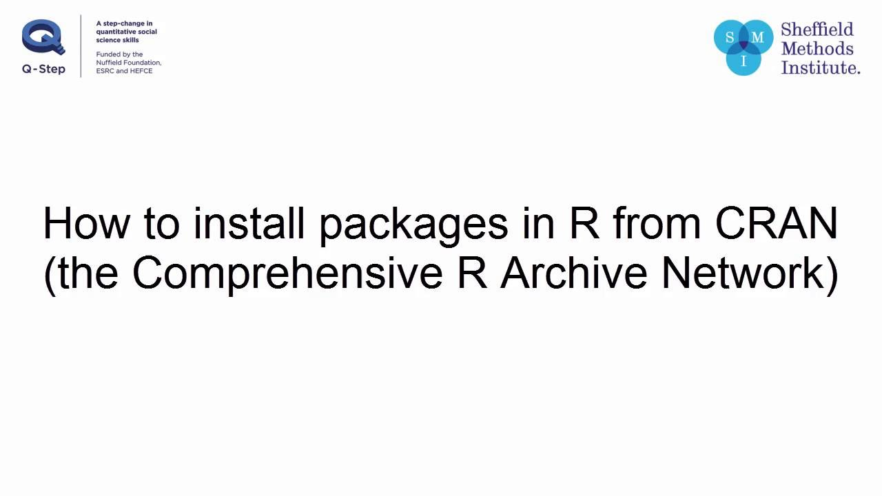 How to install new R packages in RStudio