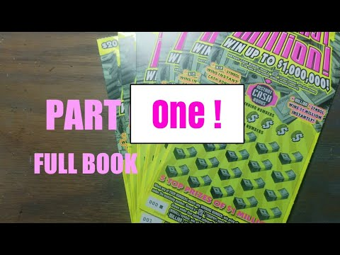 My First Million! Full Book. Pa lottery scratch tickets