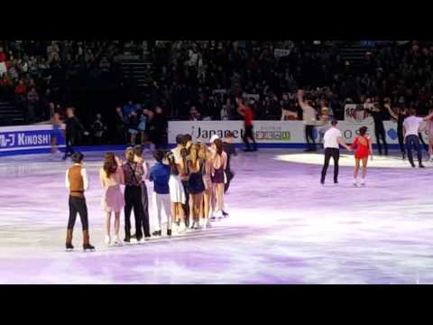Gala finale. All on ice.