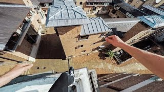Cambridge Rooftops Parkour POV