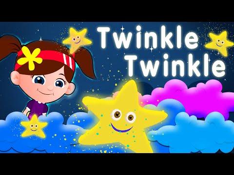 twinkle twinkle little star nursery rhymes & children songs with lyrics I kids song channel