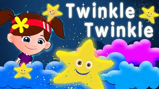 twinkle twinkle little star nursery rhymes & children songs with lyrics I kids song channel