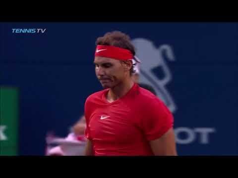Hot Shot: Nadal Turns Up The Power