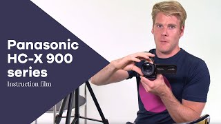 manual Filming with the Panasonic HC-X900 or HC-X920