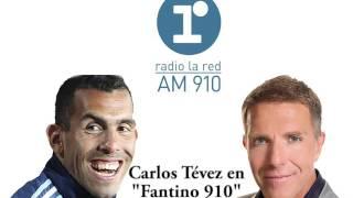 """Carlos Tévez en """"Fantino 910"""" de Alejandro Fantino (completo) - 27/07/16"""
