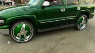 """Chevy Tahoe On 28"""" Custom DUB """"A"""" Floaters - 1080p HD"""