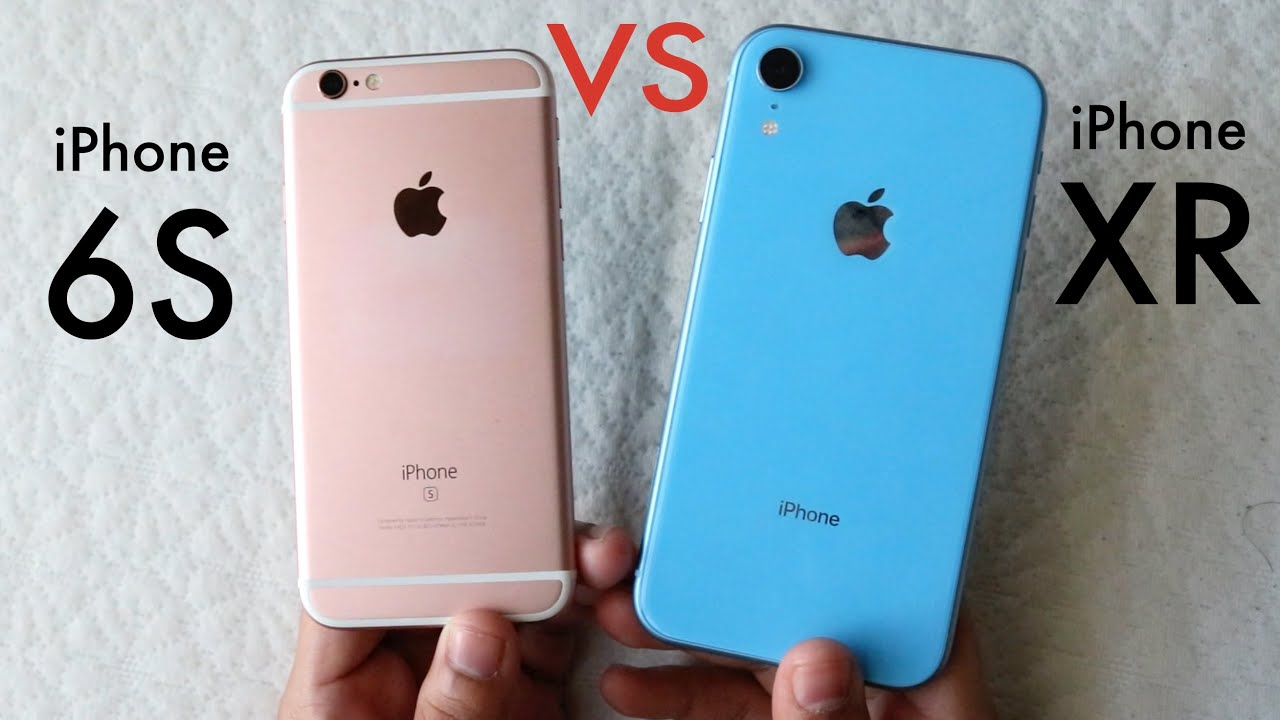 06ff13f7ba8 iPHONE XR Vs iPHONE 6S! (Should You Upgrade?) (Speed Comparison) (Review)