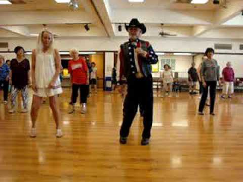 how to two step line dance