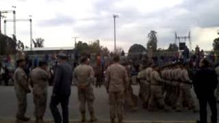 Desfile Escalón Ejército de Chile 199º Aniversario Batalla de Rancagua