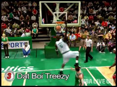 NBA Live 09 Top 10 Videos - February 27