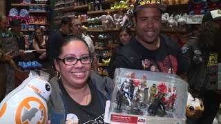 Star Wars Force Friday NYC Disney Store for The Last Jedi