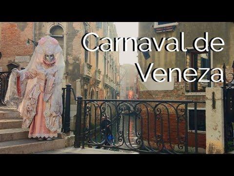 Conhecendo o CARNAVAL DE VENEZA
