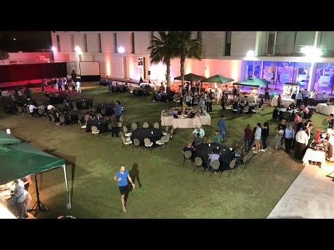 Fourseasons Dubai annual staff party 2018 staff enjoying the party