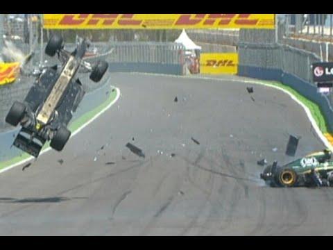 Mark Webber Crash Compilation