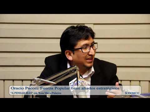 Oracio Pacori: Fuerza Popular tiene aliados estratégicos