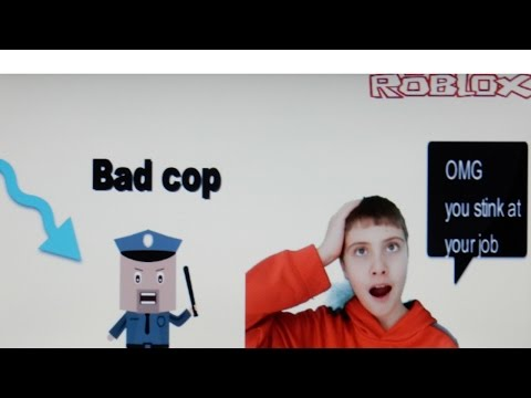 Roblox prison life|Im bad cop I stink at my job!!!!