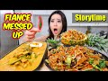 SPICY THICK RICE NOODLES + RED CURRY + PINEAPPLE FRIED RICE MUKBANG 먹방 | Eating Show