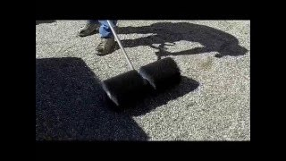 How To Flat Roof Repair - Gravel Roof Coating