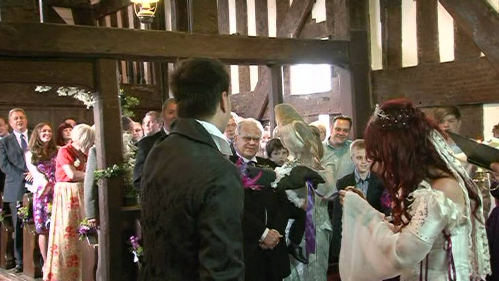 Owl ring bearer delivering rings Shropshire YouTube