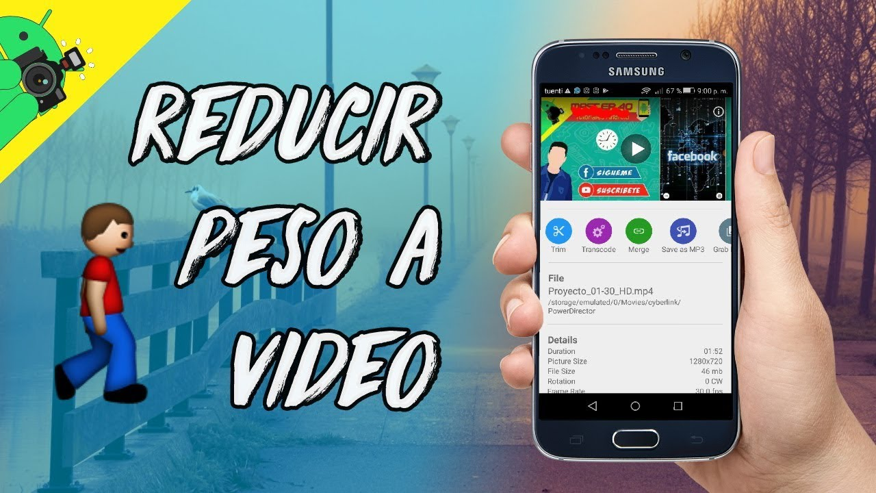 Como bajar de peso a un video mp4 online