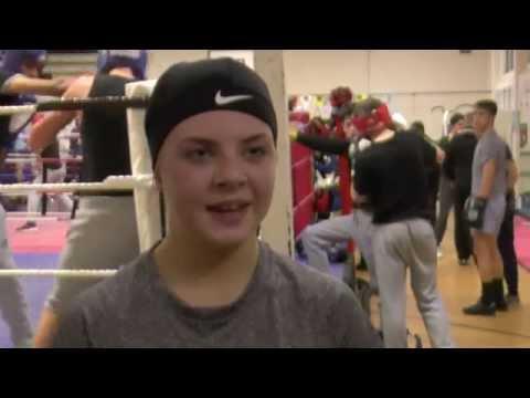 Ebonie Jones Aiming For Gold In Boxing Career