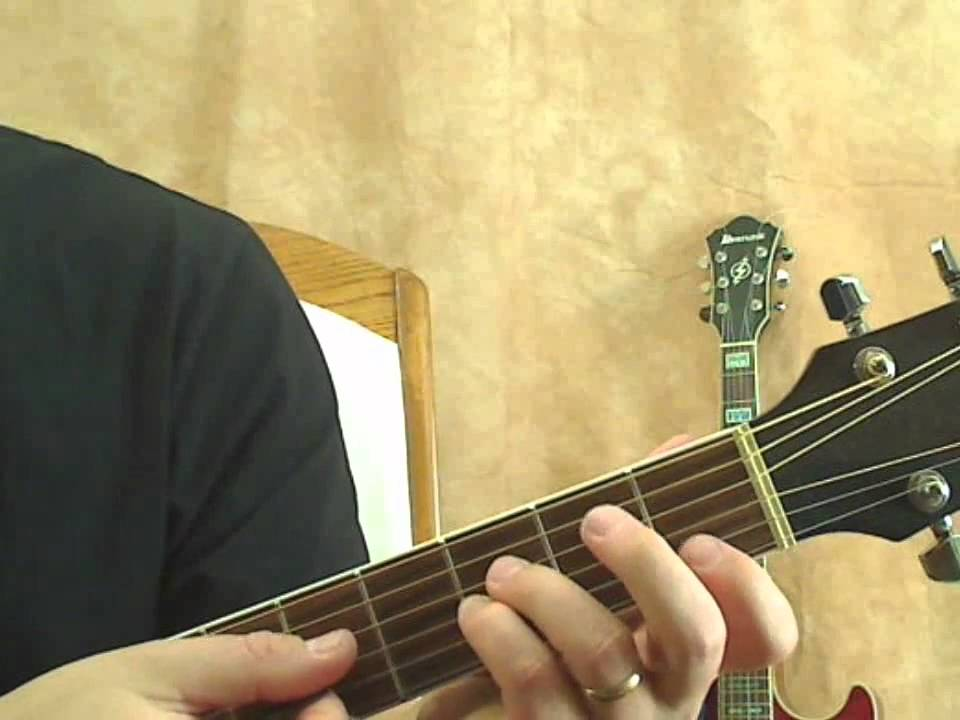 Open F Sus4 Guitar Chord Youtube