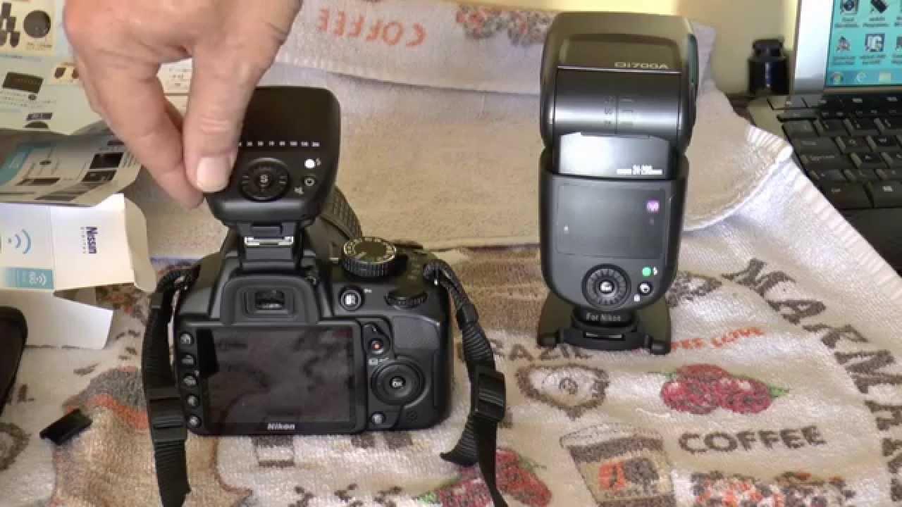 Unboxing Nissin Air 1 Commander + Di700A Flash for Nikon