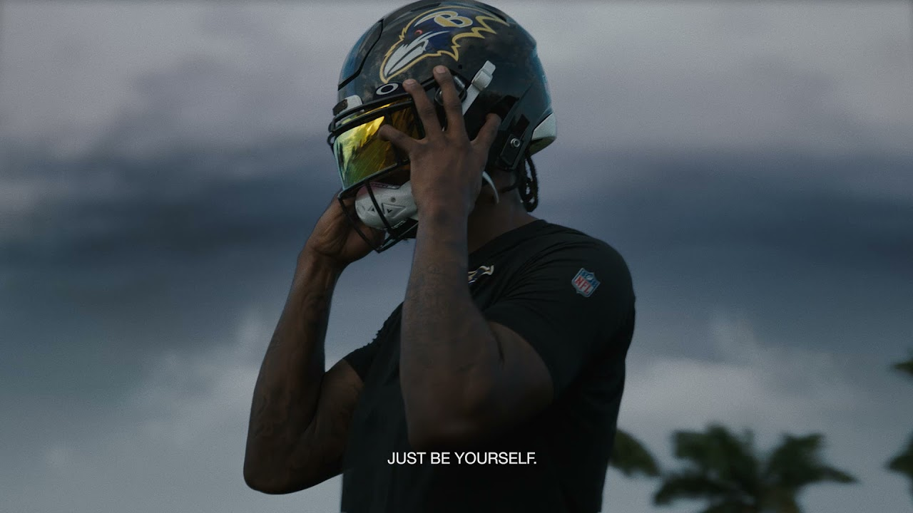 Oakley | Lamar Jackson | Be Who You Are