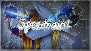 MLP:SpeedPaint- Starlight_Night  Dead Roses 