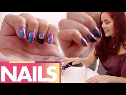 Trying SUPER GEL Fancy Nail Art!? (Beauty Trippin)