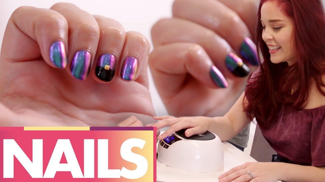 Trying Super Gel Fancy Nail Art Beauty Trippin Youtube