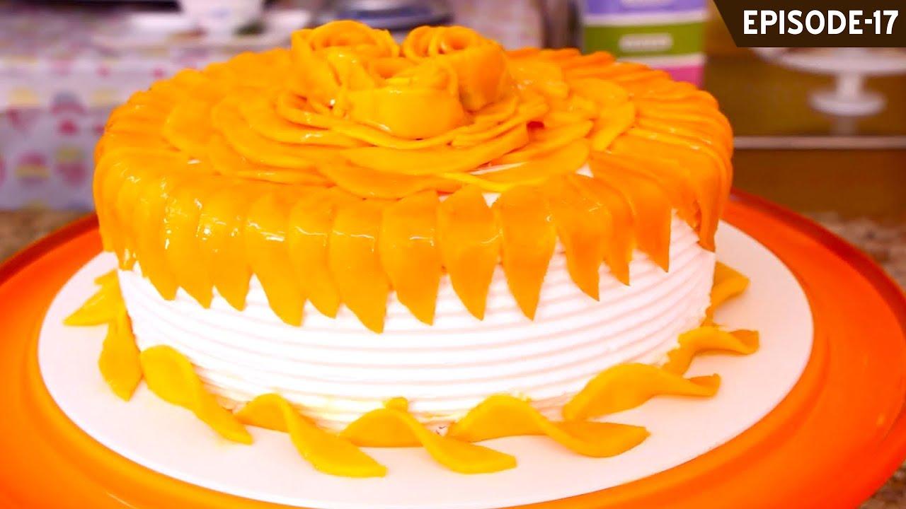 How To Make Mango Birthday Cake