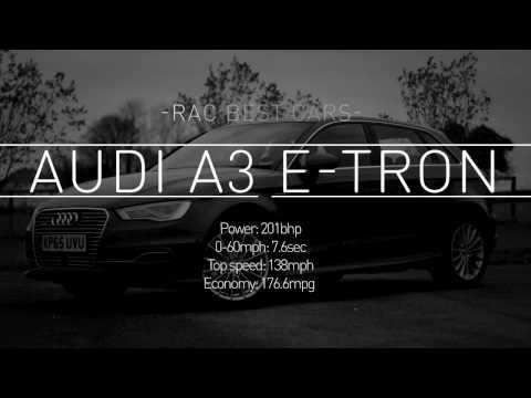 Audi A3 e-tron review: a hybrid car for commuters