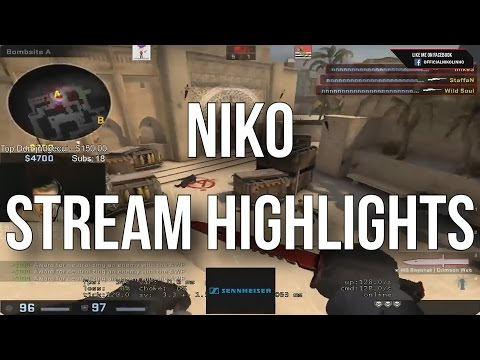 CS:GO - FaZe NiKo Stream Highlights